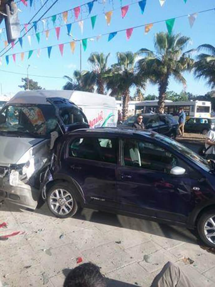 Τροχαίο ατύχημα με δυο τραυματίες