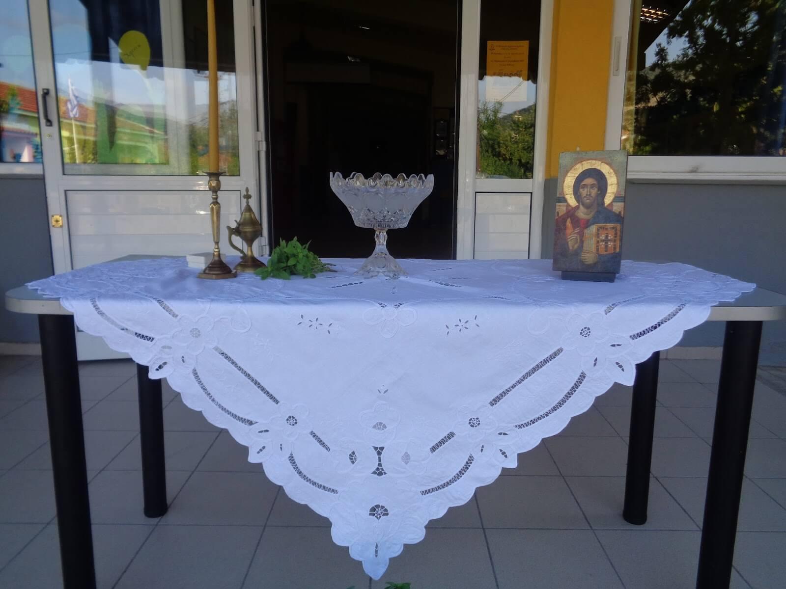 Αγιασμοί σχολείων Δήμου Παπάγου - Χολαργού