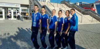 Στον τελικό του Ευρωπαϊκού Πρωταθλήματος Αεροβικής Γυμναστικής τα κορίτσια του Γ. Α. Σ. Χολαργου.