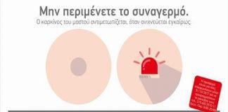 Καρκίνος του μαστού ενημερώσου σωστά