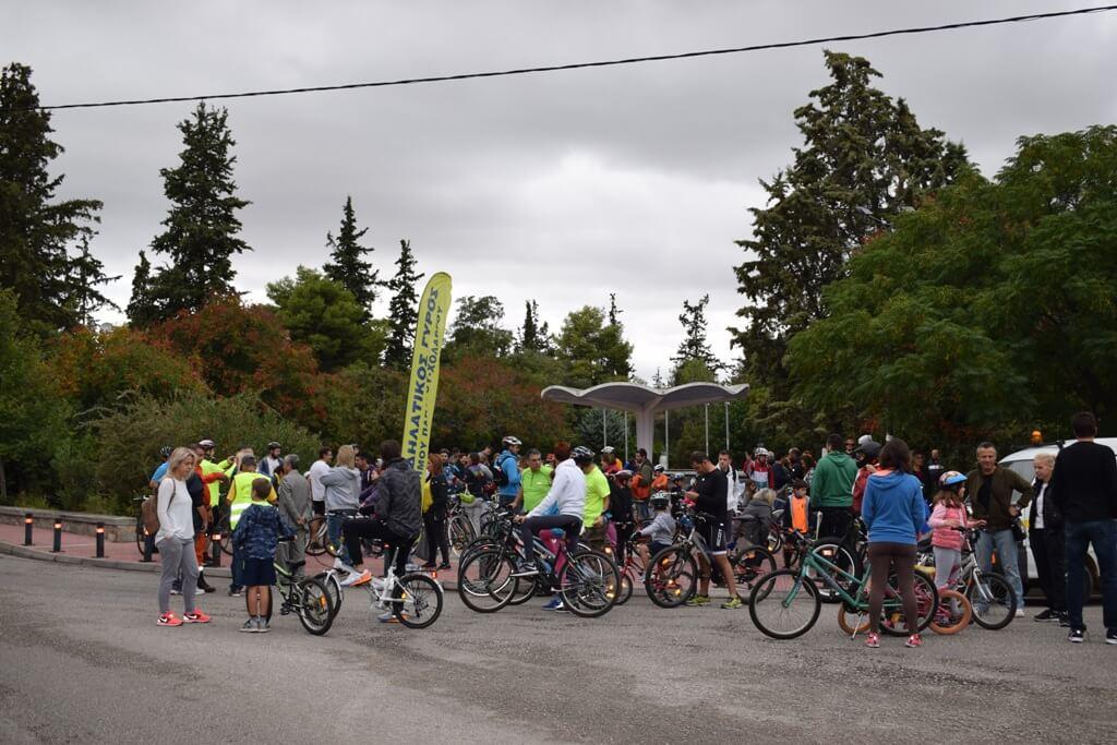 4ος Ποδηλατικός γύρος Παπάγου- Χολαργού