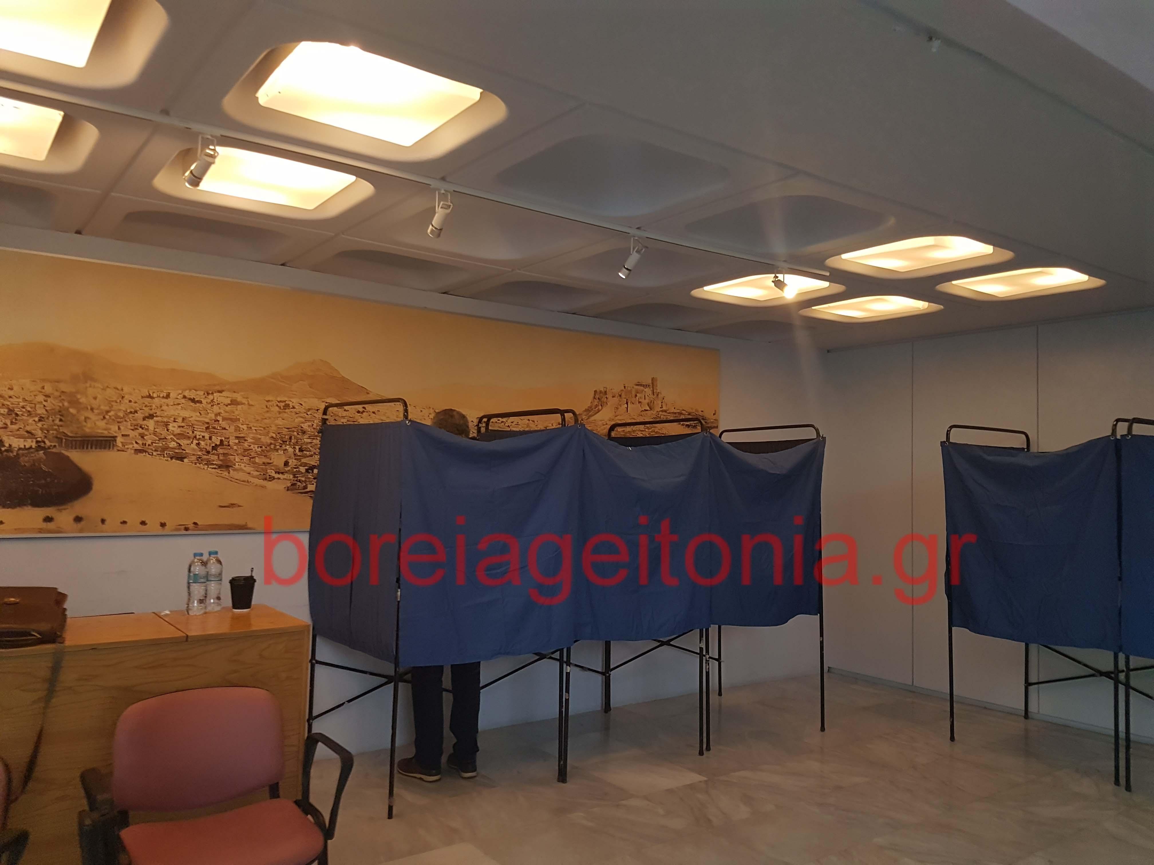 2000 άτομα προσήλθαν να ψηφίσουν για την Κεντροαριστέρα στο Χολαργό