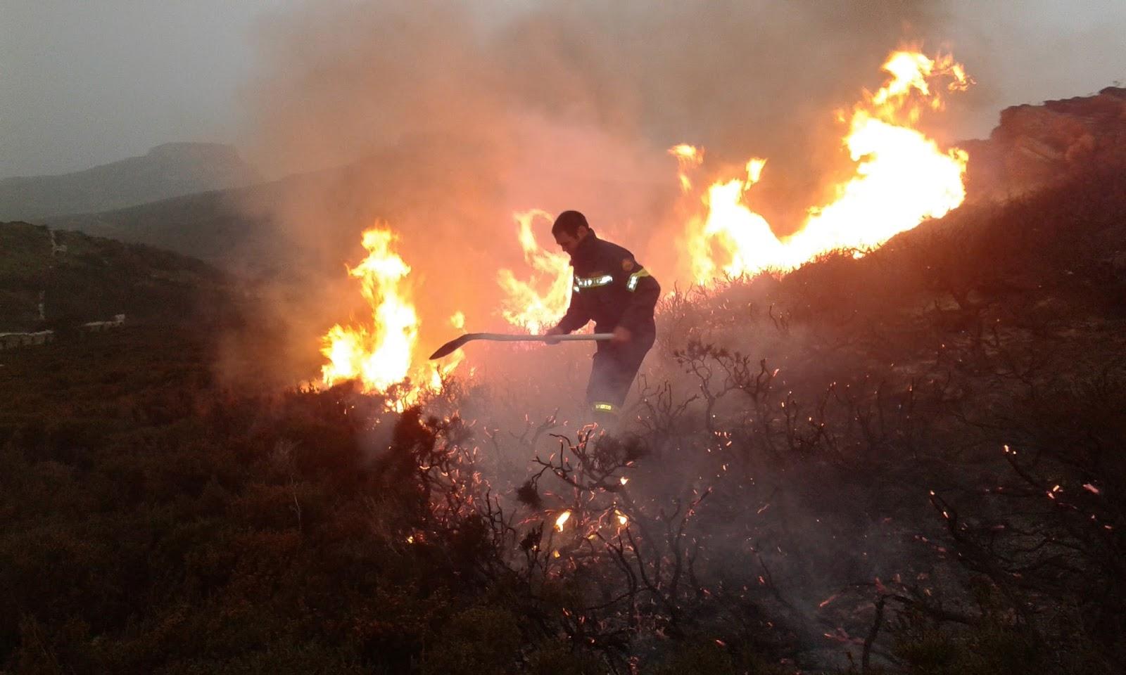 Μέτρα πρόληψης και αντιμετώπισης πυρκαγιών