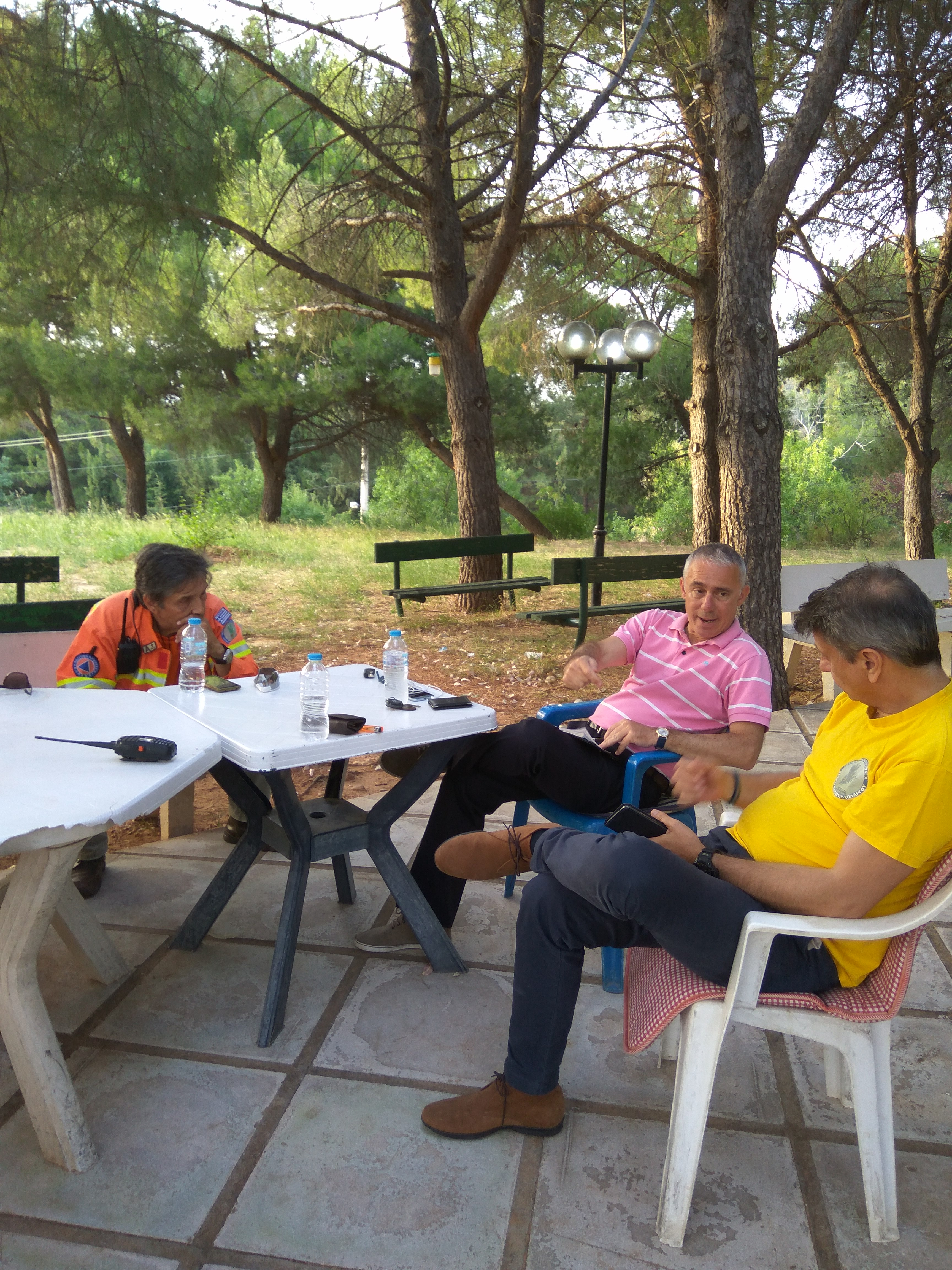Επίσκεψη του Δημήτρη Οικονόμου πρόεδρο ΔΟΠΑΠ στην ΔΑΠΑΧΟ