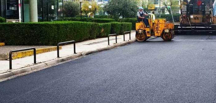 Νέο έργο επισκευής οδοστρωμάτωντου Δήμου Αγίας Παρασκευής