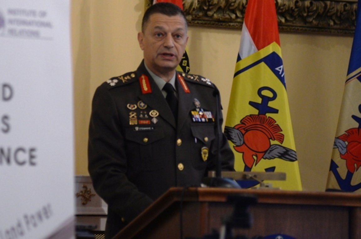 Ο Στρατηγός Κωνσταντίνος Γκίνης στον Δήμο Παπάγου - Χολαργού