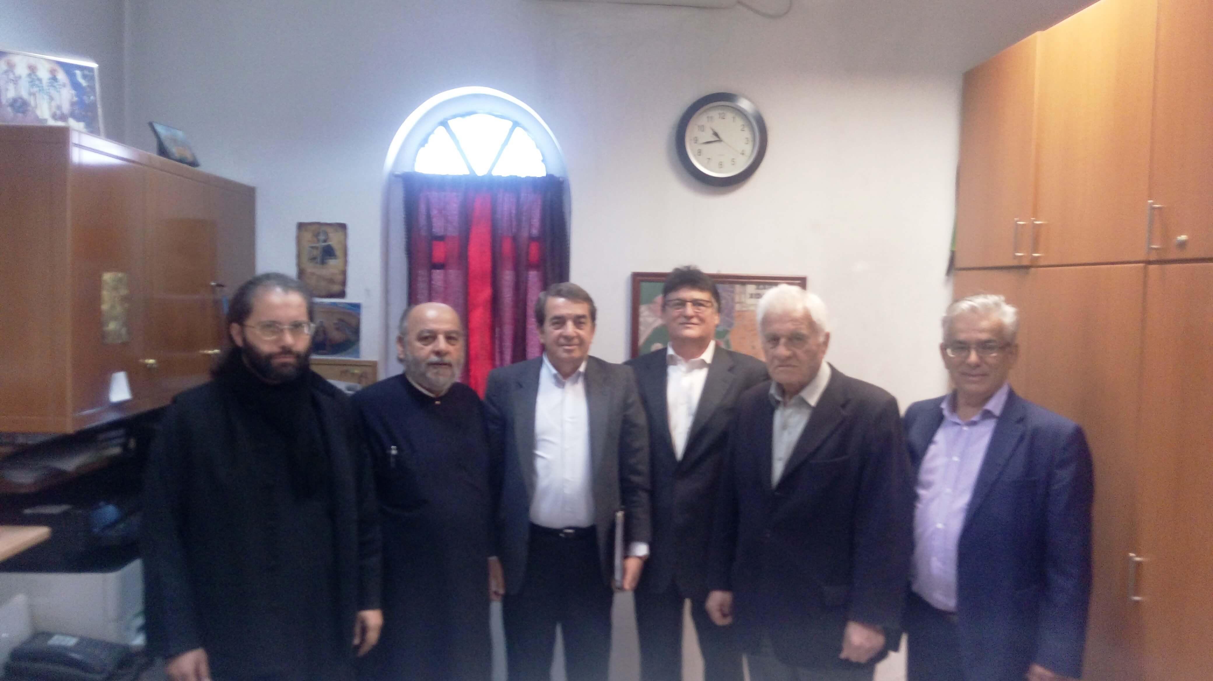 Συνάντηση Υποψηφίου Δημάρχου με Εκκλησιαστικό Συμβούλιο Ιερού Ναού Αγίας Τριάδος
