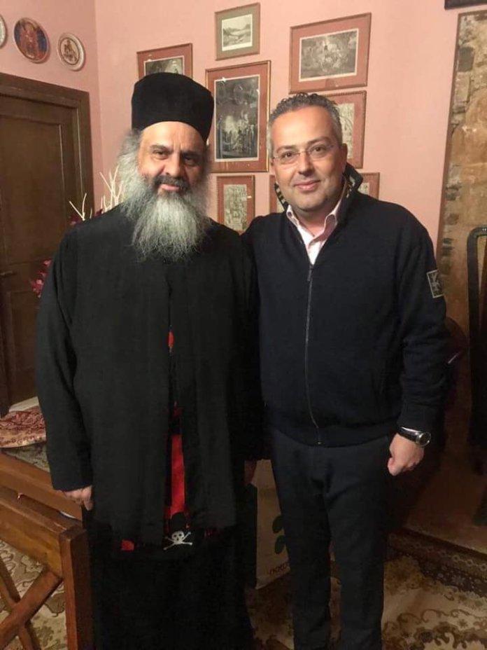 Συνάντηση του Ηλία Αποστολόπουλο με τον πατέρα Αλέξιο Γιαννιό-boreiageitonia0604