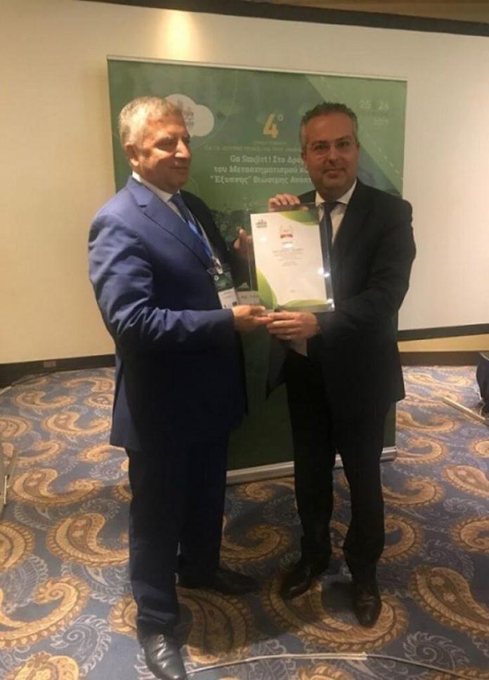 Διάκριση για τον δήμο Παπάγου -Χολαργού στο 4ο ετήσιο συνέδριο