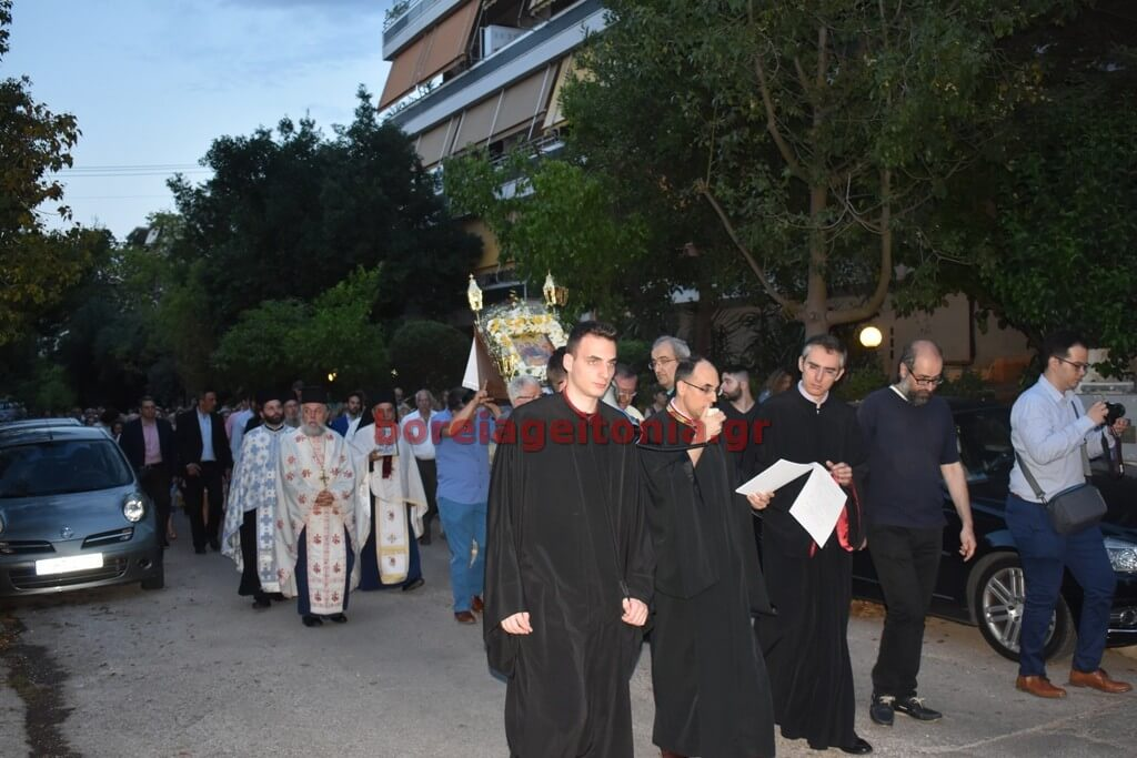Με λαμπρότητα το πανηγύρι στον Ιερό Ναό Αγίας Τριάδας στον Χολαργό