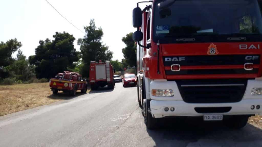 Πυρκαγιά το μεσημέρι στο Παπάγο στην οδό Σωρανού