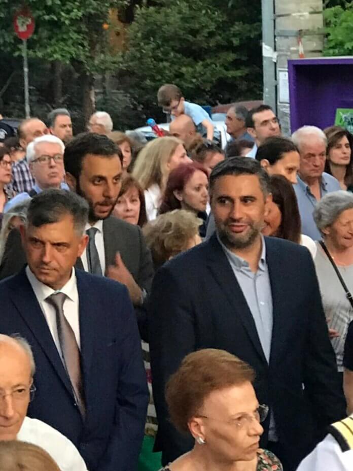 Στα Βριλήσσια ο υποψ. Βουλευτής ΝΔ στο Βόρειο Τομέα, Σάκης Ιωαννίδης