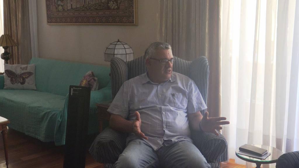 Η πρώτη συνέντευξη του Αθανάσιου Κούτρα στην Δήμητρα Κούτρα