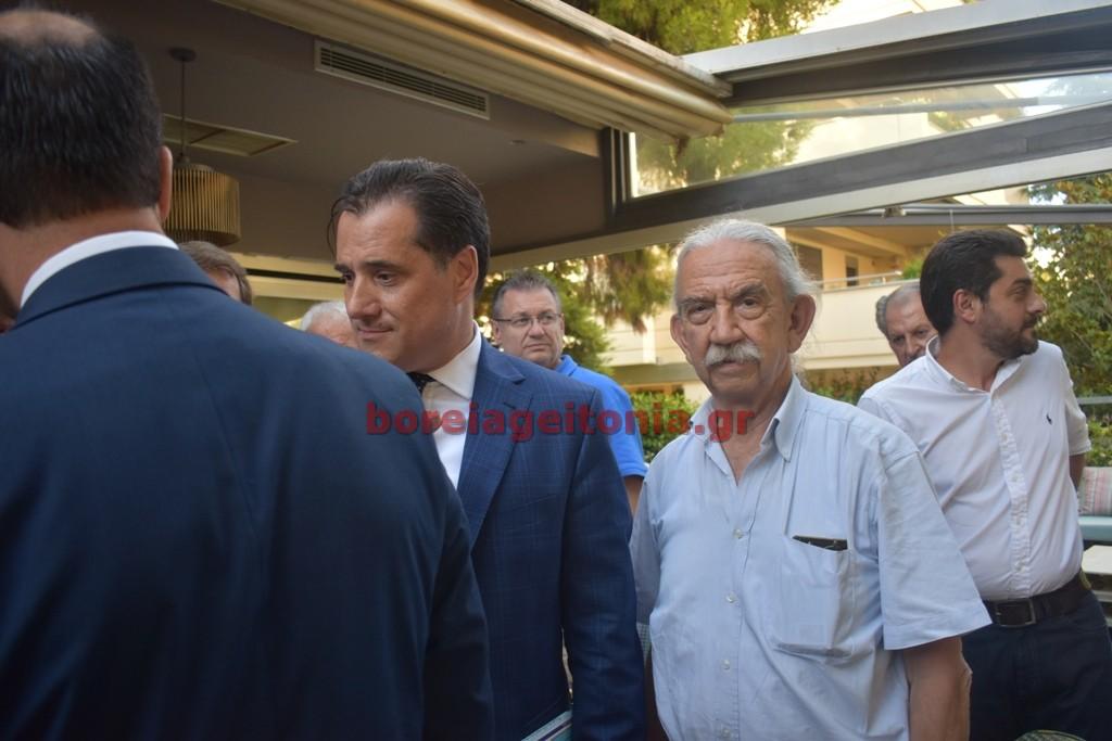 Καλεσμένος του Κώστα Τίγκα ο Άδωνις Γεωργιάδης στον Χολαργό