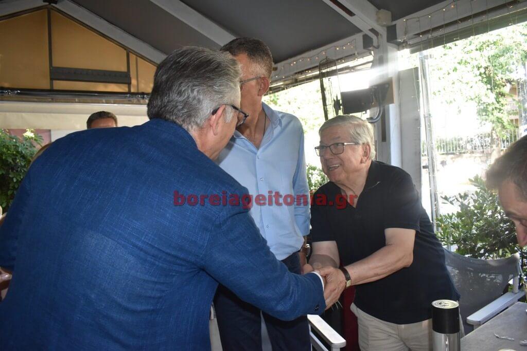 Προεκλογική ομιλία Ρουσόπουλου στην Ολυμπιάδα Παπάγου