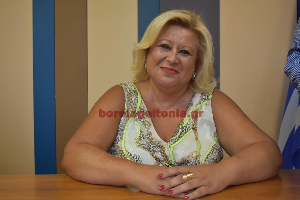 Βάνα Ρετσινιά: Με 18 ψήφους εκλέχτηκε αντιπρόεδρος Δημοτικού Συμβουλίου η Βάνα Ρετσινιά από την αντιπολίτευση του Δημήτρη Τούτουζα,
