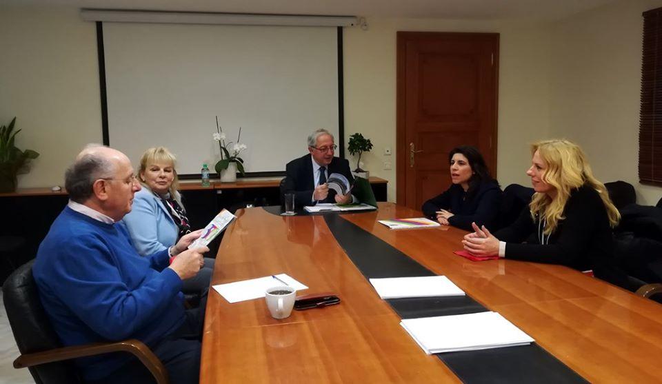 Δήμαρχος Αμαρουσίου: Συνάντηση με εκπροσώπους της Ελληνογαλλικής Σχολής Ουρουσουλινών