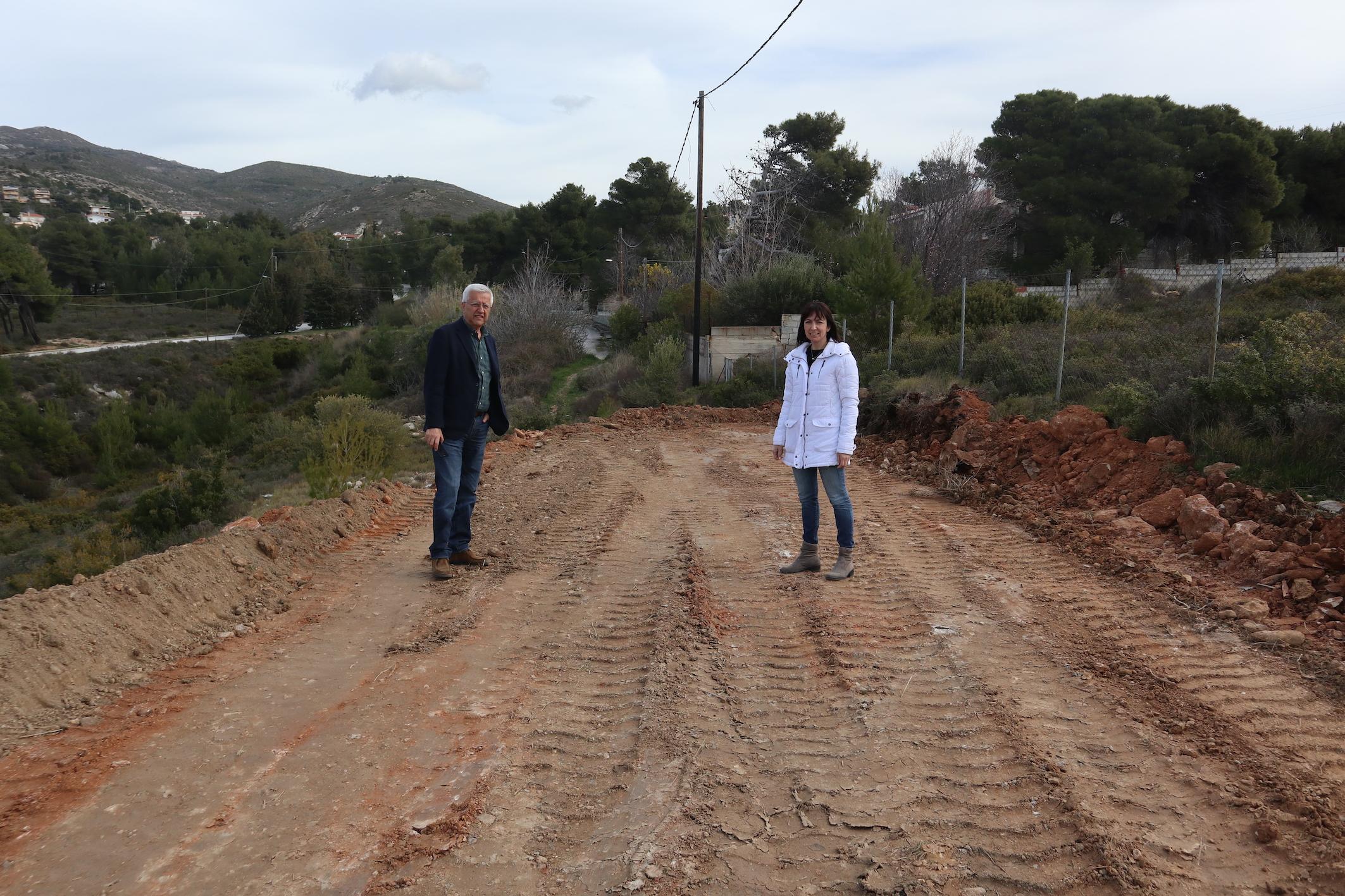 Δήμητρα Κεχαγιά: Προχωρούν τα προπαρασκευαστικά έργα αποχέτευσης
