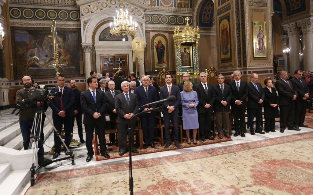Άδωνις Γεωργιάδης: Στην Μητρόπολη Αθηνών την ημέρα της Ορθοδοξίας