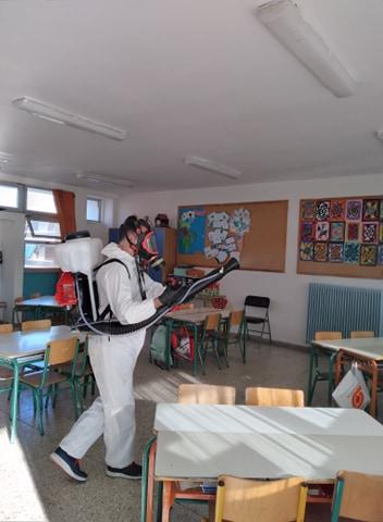 Δήμος Παπάγου - Χολαργού: Απολύμανση σε όλα τα σχολεία του δήμου