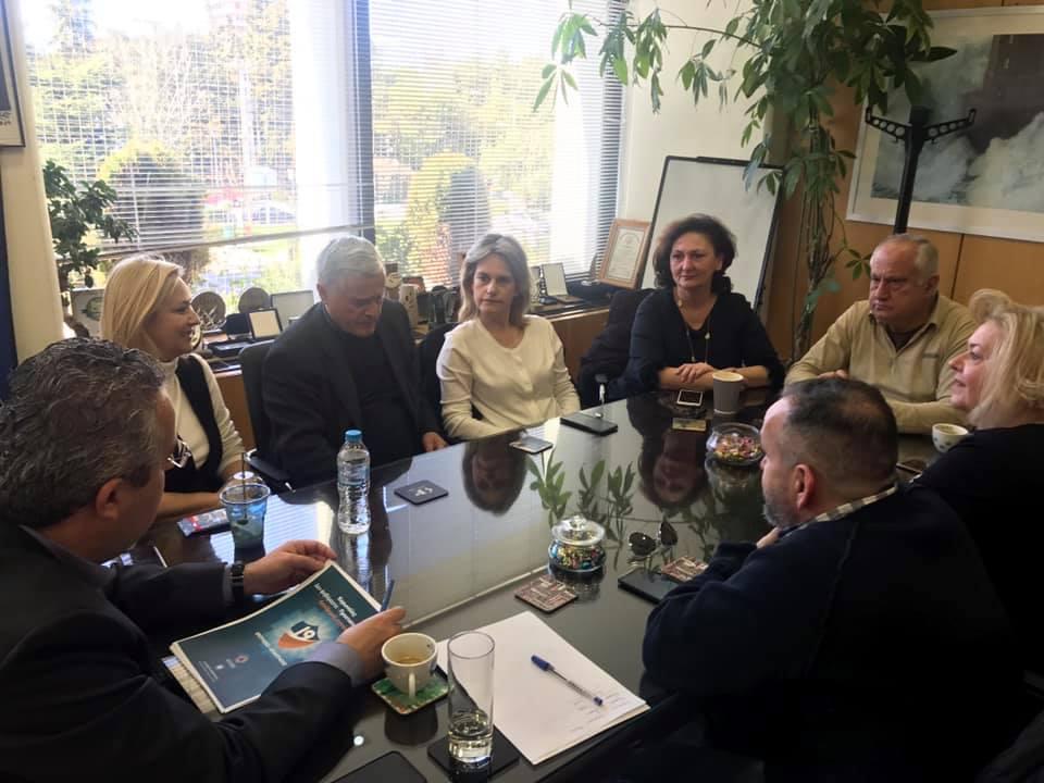 Δήμος Παπάγου - Χολαργού: Σύσκεψη της εκτελεστικής επιτροπής για τον κορονοϊο