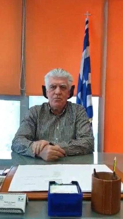 Βασίλης Ζορμπάς: Μήνυμα δημάρχου για εορτασμό της 25ής Μαρτίου