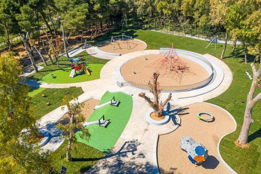 Παπάγου: Ανοίγει τις πόρτες της η παιδική χαρά στο Πάρκο «Στρατ. Αλεξάνδρου Παπάγου»