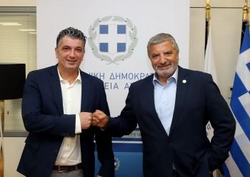 Γ. Πατούλης: Συνάντηση του Περιφερειάρχη Αττικής με τον Δήμαρχο Βριλησσίων
