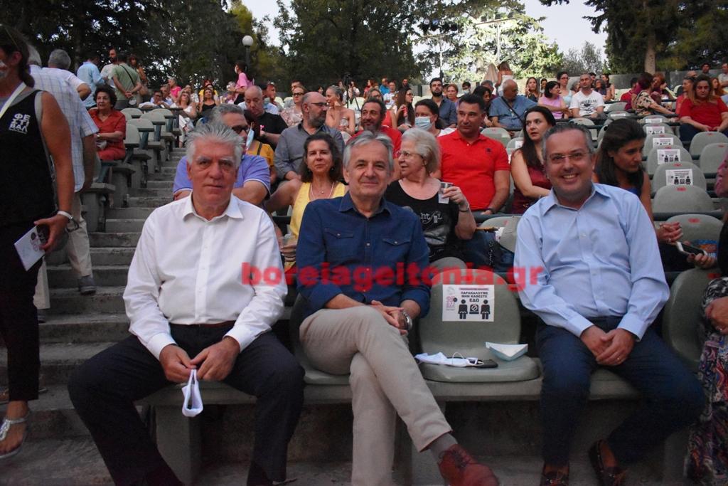 Κηποθέατρο Παπάγου - Χολαργού: Γιαννακόπουλος Αποστολόπουλος Ζορμπάς μαζί