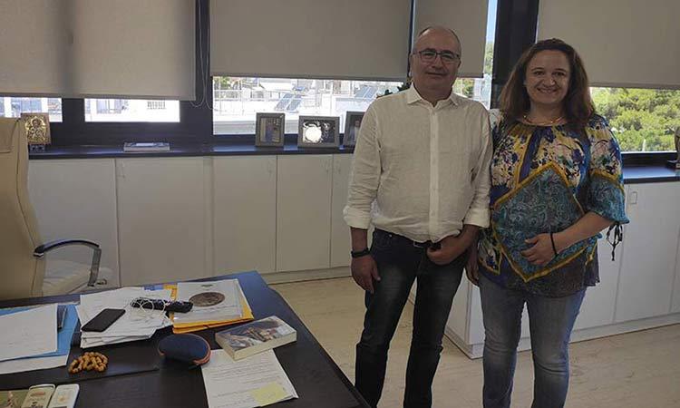 Dimos Irakleiou: I synergasia me tin Perifereia gia ta erga