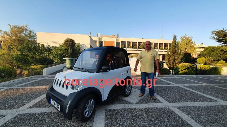 I. Apostlopoulos: Dokimazontas nees texnologies sto Dimo Papagou Xolargoy