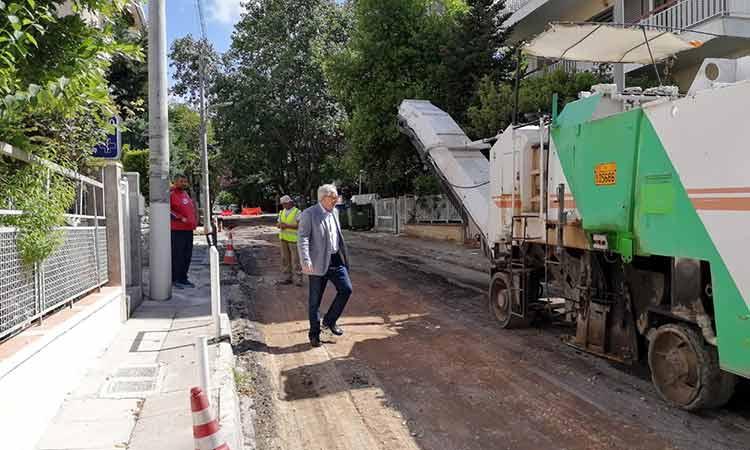 Maroysi: KSekina o 1os kyklos ektetamenwn asfaltostrwsewn