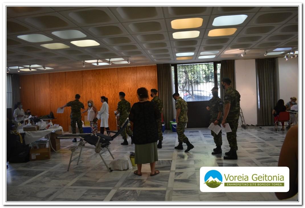 Δήμος Παπάγου - Χολαργού: Αιμοδοσία με μεγάλη επιτυχία και μέτρα